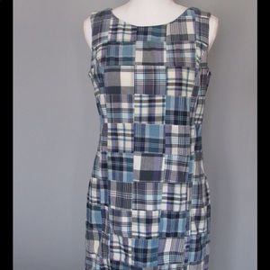 Orvis Dress- Blue & White Stripes